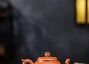 陈小明紫砂壶作品|原矿降坡泥鸣远四方壶360CC纯手工真品价位