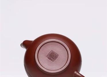 杨慧英紫砂壶作品|原矿紫泥茶香壶280CC手工真品价格