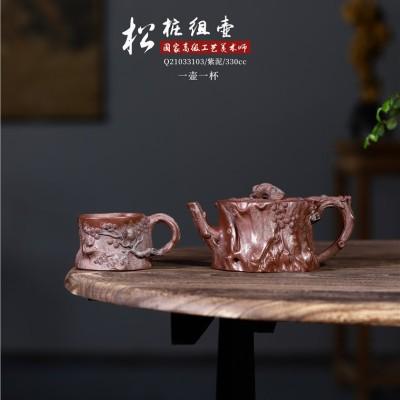 徐永君作品 松桩组壶