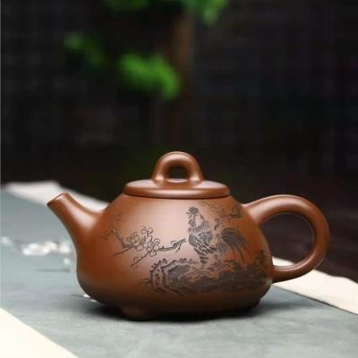 刘政作品 子冶石瓢