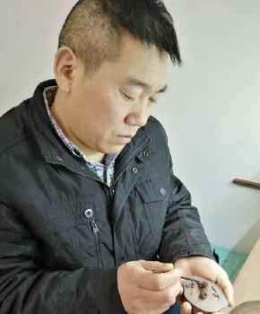 紫砂壶工艺师杨景义名家照片