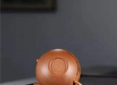 刘莹紫砂壶作品 蟹黄段泥汉罐套组壶300CC手工真品价位