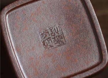 许华芳紫砂壶作品 龙骨金砂坦然壶140CC纯手工真品价值