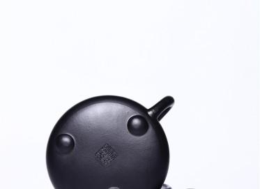 徐永君紫砂壶作品|原矿紫泥满瓢壶430CC手制正品行情
