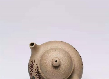 杨慧英紫砂壶作品|原矿段泥容天壶300CC纯手工正品价格表