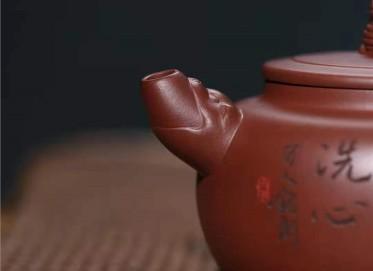 许华芳紫砂壶作品|原矿底槽清龙吟壶340CC手制真品行情
