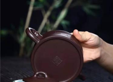 徐建平紫砂壶作品 原矿紫泥一品竹壶280CC纯手工正品价格