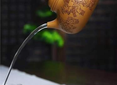 刘莹紫砂壶作品|原矿段泥百子容天壶550CC手工正品行情