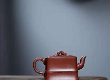许华芳紫砂壶作品 原矿底槽清谦竹壶230CC全手工真品价格