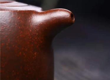 徐建平紫砂壶作品 铁砂泥井栏壶300CC纯手工真品行情