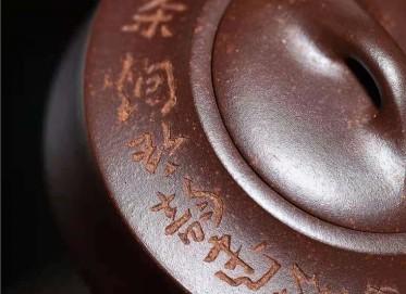 许华芳紫砂壶作品|龙骨金砂汉君壶310CC手工真品价格表