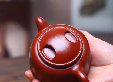 葛岳纯紫砂壶作品|原矿大红袍牛盖壶220CC纯手工正品怎么样