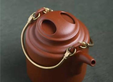 葛岳纯紫砂壶作品 原矿底槽清洋桶壶460CC纯手工正品价格表