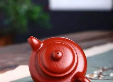 严伟紫砂壶作品 原矿大红袍掇只壶240CC手工正品怎么样