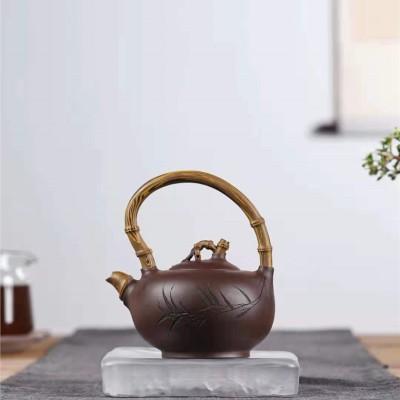 蒋爱英作品 竹节提梁