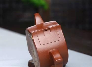 耿浩紫砂壶作品 原矿底槽清颐年壶230CC手制正品怎么样