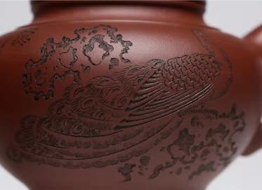 王玉芳紫砂壶作品 原矿底槽清笑樱壶420CC手工正品价格表