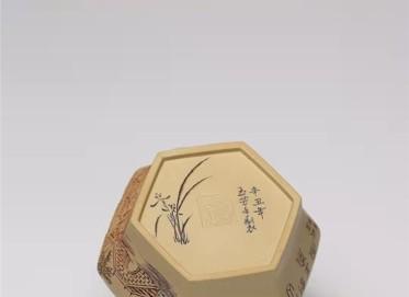 王玉芳紫砂壶作品 本山绿泥僧帽壶350CC手工真品价格表