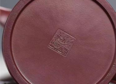 潘雪锋紫砂壶作品 原矿龙血砂井栏壶400CC手制正品多少钱