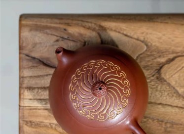 范微琴紫砂壶作品 原矿红皮龙西施壶230CC纯手工正品行情