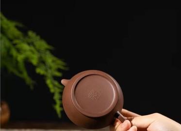 范微琴紫砂壶作品|原矿底槽清茶香壶200CC纯手工真品价位