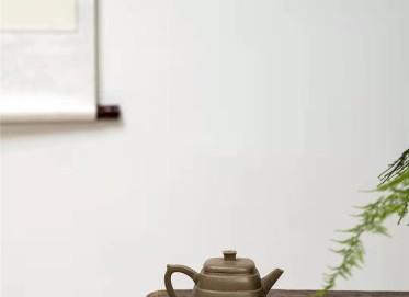 范微琴紫砂壶作品 龙背青步步高升壶210CC纯手工正品价位