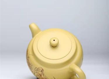 谈敏紫砂壶作品|本山绿泥古风壶470CC手制正品多少钱