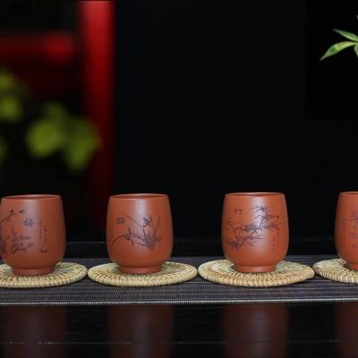 陈富艳作品 梅兰竹菊