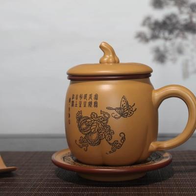 张晓芬作品 南瓜杯