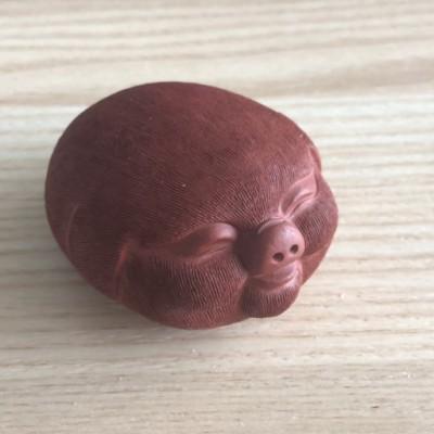 郑裕阳作品 茶宠猪头