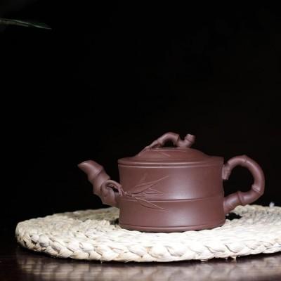 卢小伟作品 竹节壶