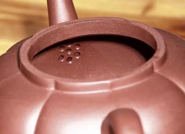 周国芳紫砂壶作品 一言九鼎壶 原矿优质紫红泥 260cc 筋纹器 高级工艺美术师 周国芳紫砂壶价格,多少钱