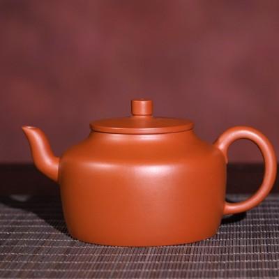 悠然紫砂作品 孟臣德钟壶