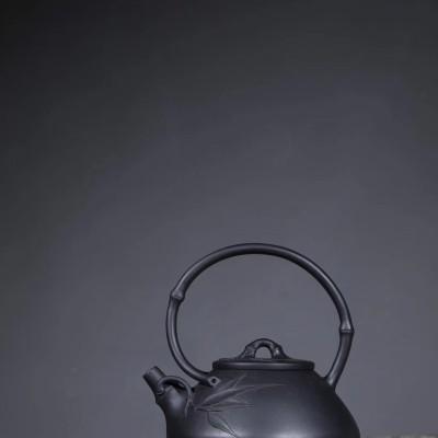 杨军保作品 石瓢提梁