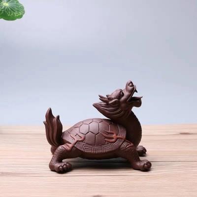 紫砂茶宠 龙龟
