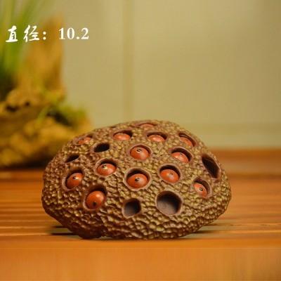 紫砂茶宠 青蛙莲子