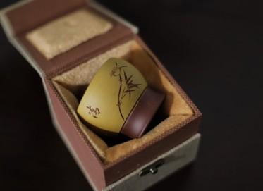 庞红俊紫砂壶作品 主人杯 黄龙山黄金段泥 180cc 品茗杯 实力派名家 庞红俊紫砂壶价格,多少钱