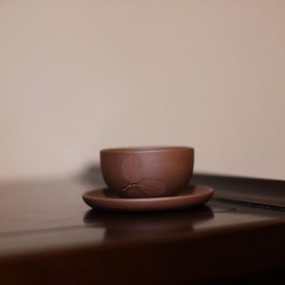 陈氏制陶作品 宜兴紫砂品茗杯