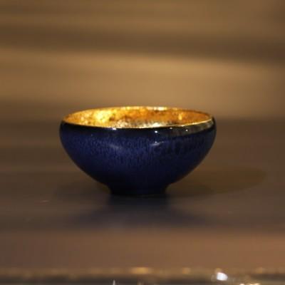 赖新奎作品 鎏金杯