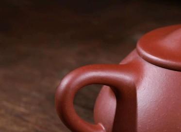 陈浩紫砂壶作品 景舟石瓢壶 原矿家藏红皮龙 260cc  助理工艺美术师 陈浩紫砂壶价格,多少钱