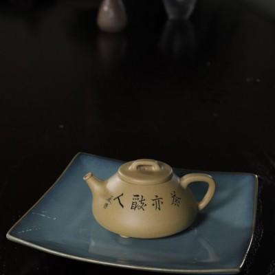 张菊仙作品 心舟石瓢