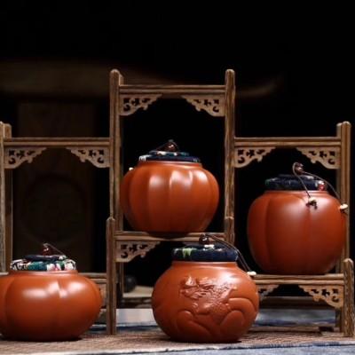 悠然紫砂作品 醒茶罐系列