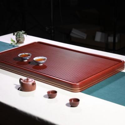 悠然紫砂作品 卡金胶木茶盘