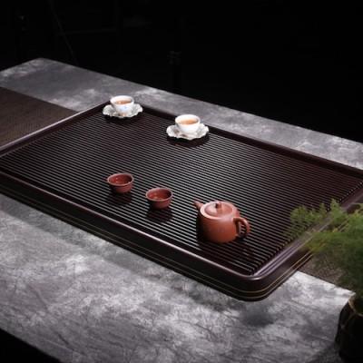悠然紫砂作品 卡金电胶木茶盘