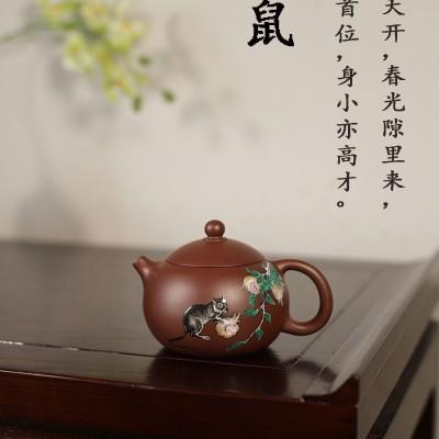 秦永强作品 十二生肖子鼠西施