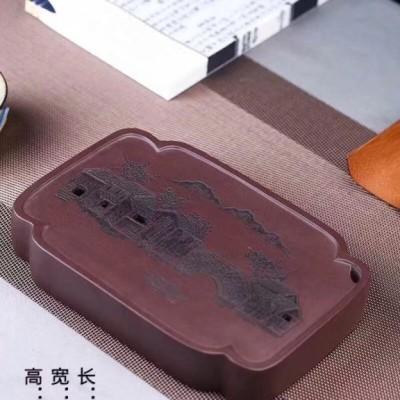悠然紫砂作品 干泡台