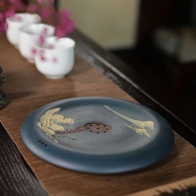 悠然紫砂作品 壶承