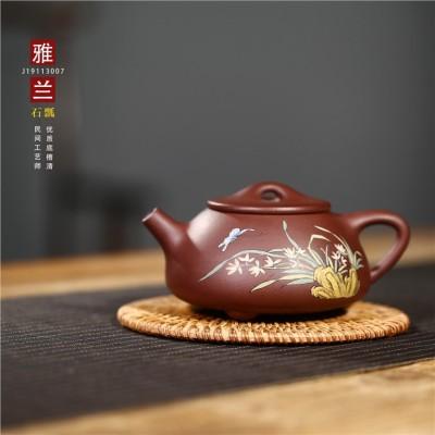 张丽作品 雅兰石瓢