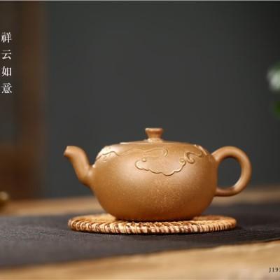 邵美华作品 祥云如意