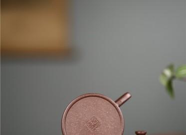 许冠新紫砂壶作品 芳馨壶 原矿紫泥 120CC 工艺美术员 芳馨紫砂壶价格,多少钱